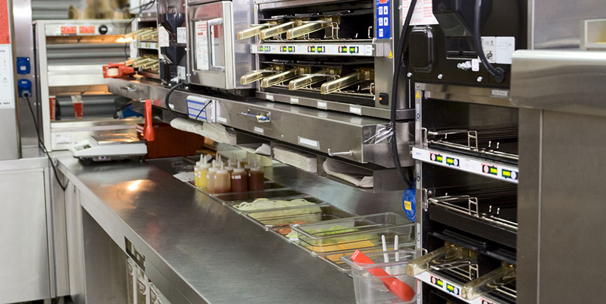 Commercial kitchen – fast food