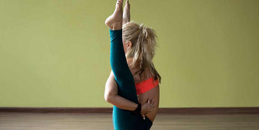 Hip-opening yoga training