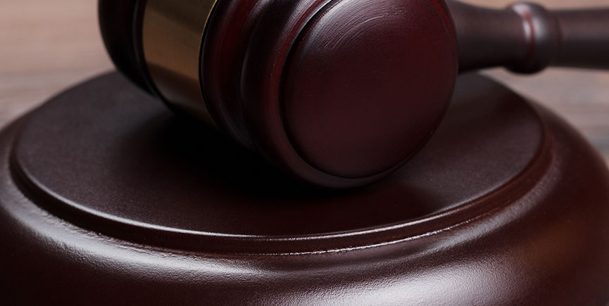 judge gavel on brown wooden table