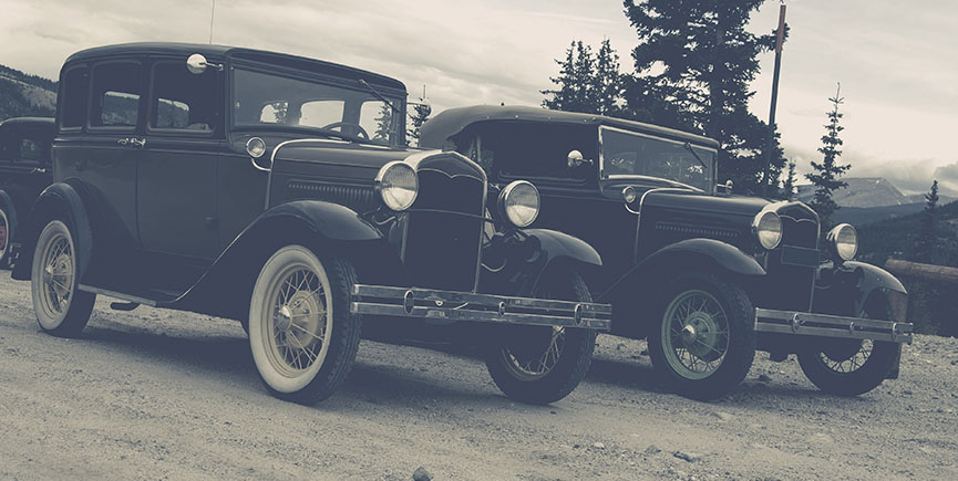 Vintage Cars Old Timers